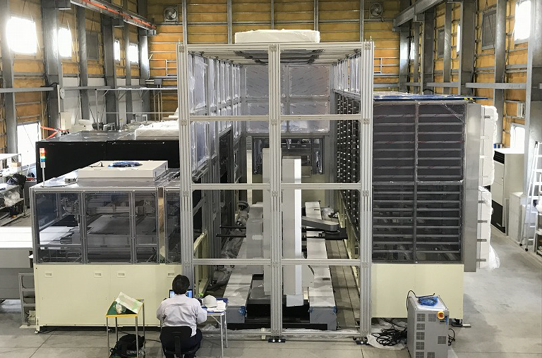 九州工場 作業場